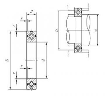 200 mm x 260 mm x 25 mm  IKO CRBH 20025 A UU thrust roller bearings