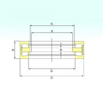 470 mm x 720 mm x 50 mm  ISB 353151 thrust roller bearings