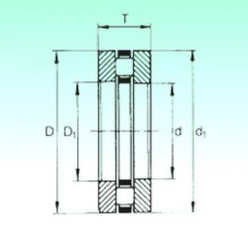 200 mm x 280 mm x 18 mm  NBS 81240-M thrust roller bearings