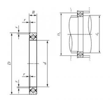 130 mm x 146 mm x 8 mm  IKO CRBS 1308 thrust roller bearings