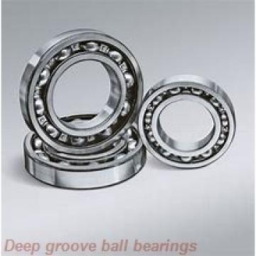 3 mm x 6 mm x 2 mm  NMB L-630 deep groove ball bearings