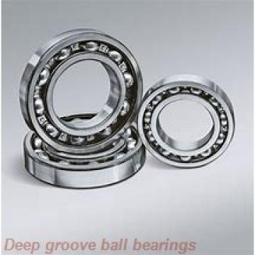 85 mm x 130 mm x 22 mm  KBC 6017ZZ deep groove ball bearings