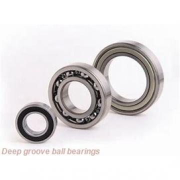 65 mm x 100 mm x 18 mm  NSK 6013NR deep groove ball bearings