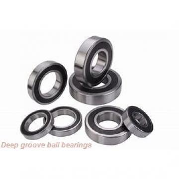 6,35 mm x 12,7 mm x 3,175 mm  ISO R188 deep groove ball bearings