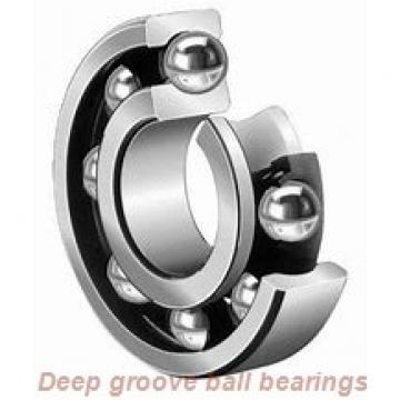 25 mm x 52 mm x 15 mm  Timken 205P deep groove ball bearings