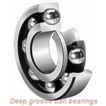 90 mm x 140 mm x 24 mm  KOYO 6018N deep groove ball bearings