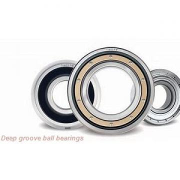 22 mm x 50 mm x 14 mm  KOYO 62/22Z deep groove ball bearings