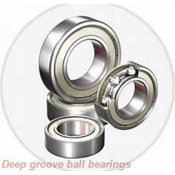 55 mm x 100 mm x 55,6 mm  FYH UC211 deep groove ball bearings