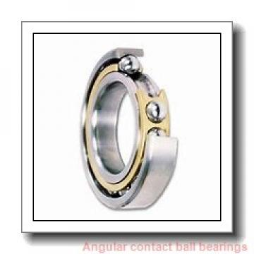 70 mm x 125 mm x 24 mm  NACHI 7214DF angular contact ball bearings