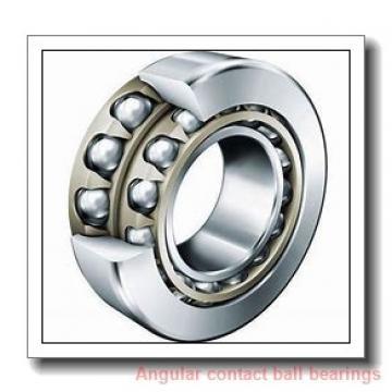 35 mm x 72 mm x 33 mm  ILJIN IJ131008 angular contact ball bearings