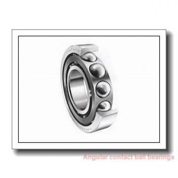 20 mm x 47 mm x 14 mm  NACHI 7204CDT angular contact ball bearings