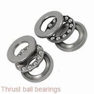 35 mm x 73 mm x 9 mm  FAG 52209 thrust ball bearings