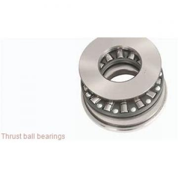 ISO 53416U+U416 thrust ball bearings