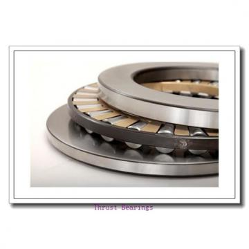 500 mm x 670 mm x 33 mm  NACHI 292/500E thrust roller bearings