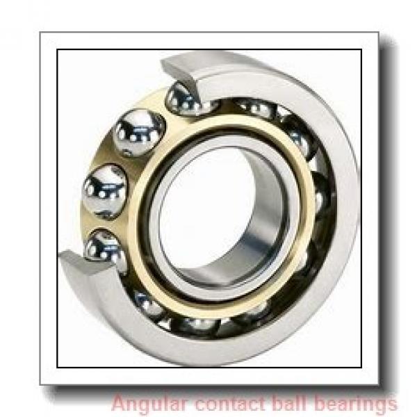 100 mm x 215 mm x 47 mm  NACHI 7320DT angular contact ball bearings #1 image