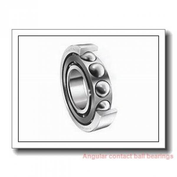 25 mm x 47 mm x 12 mm  FAG B7005-C-T-P4S angular contact ball bearings #1 image