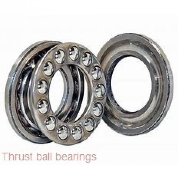 100 mm x 215 mm x 47 mm  SKF NUP 320 ECJ thrust ball bearings #1 image